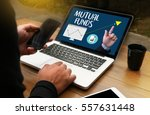 mutual funds finance and money...   Shutterstock . vector #557631448