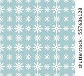 vector seamless snowflakes or... | Shutterstock .eps vector #557636128