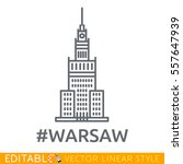 Warsaw. Palace Of Culture And...