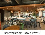 bar counter in restaurant... | Shutterstock . vector #557649940