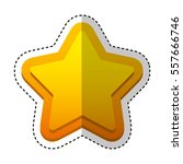 game star isolated icon vector...