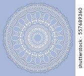 beautiful mandala geometric... | Shutterstock .eps vector #557689360