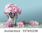 mothers day concept of i love... | Shutterstock . vector #557692258