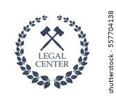 advocacy juridical icon. vector ... | Shutterstock .eps vector #557704138