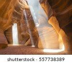 Antelope Canyon   Sun Rays On...