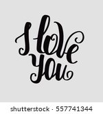 "lettering ""i love you""... 