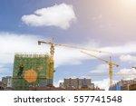 construction site | Shutterstock . vector #557741548