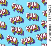 seamless pattern with patches ... | Shutterstock .eps vector #557742673