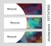abstract vector layout... | Shutterstock .eps vector #557747830