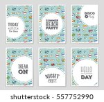abstract vector layout... | Shutterstock .eps vector #557752990