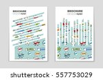 abstract vector layout... | Shutterstock .eps vector #557753029
