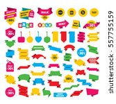 web stickers  banners and...   Shutterstock .eps vector #557755159