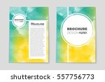abstract vector layout... | Shutterstock .eps vector #557756773