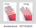 abstract vector layout... | Shutterstock .eps vector #557761819