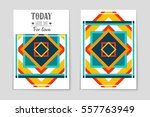 abstract vector layout...   Shutterstock .eps vector #557763949