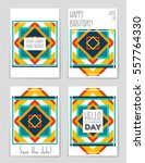 abstract vector layout...   Shutterstock .eps vector #557764330