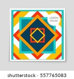 abstract vector layout...   Shutterstock .eps vector #557765083
