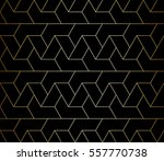 abstract geometric pattern with ... | Shutterstock .eps vector #557770738