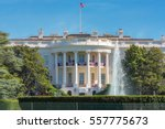 the white house in washington... | Shutterstock . vector #557775673