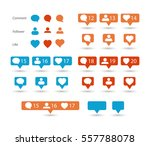 color gradient icon template.... | Shutterstock .eps vector #557788078