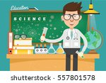 doctor and medical concept... | Shutterstock .eps vector #557801578