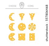 Vector Illustration Of Cheese....