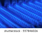 propane flame inside of gas... | Shutterstock . vector #557846026