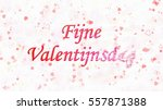 happy valentine's day text in... | Shutterstock . vector #557871388
