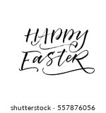 happy easter postcard. holiday...   Shutterstock .eps vector #557876056