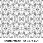 floral lace ornament. seamless... | Shutterstock .eps vector #557876164