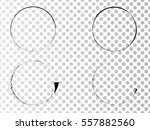 vector frames. circle for image.... | Shutterstock .eps vector #557882560