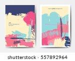 modern grunge brush design...   Shutterstock .eps vector #557892964