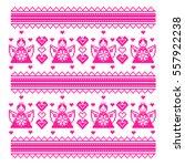 ethnic ukraine cross stitch... | Shutterstock .eps vector #557922238