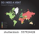 visas information for republic... | Shutterstock .eps vector #557924428