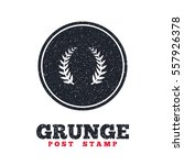 grunge post stamp. circle...   Shutterstock .eps vector #557926378