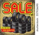 Vintage Tire Service Or Garage...