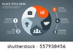 dark vector circle arrows... | Shutterstock .eps vector #557938456