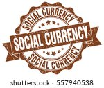 social currency. stamp. sticker.... | Shutterstock .eps vector #557940538