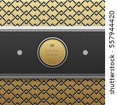 horizontal banner template on... | Shutterstock .eps vector #557944420