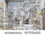high pressure feed gas turbine... | Shutterstock . vector #557950420