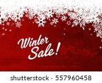 winter sale illustration...   Shutterstock .eps vector #557960458