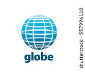 abstract logo globe | Shutterstock .eps vector #557996110
