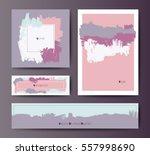modern grunge brush design... | Shutterstock .eps vector #557998690