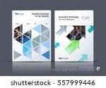 business vector. brochure... | Shutterstock .eps vector #557999446