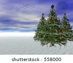 Decorated Christmas Tree ...