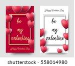 happy valentines day beautiful...   Shutterstock .eps vector #558014980