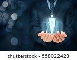team leader  influencer ... | Shutterstock . vector #558022423