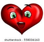 heart. vector   Shutterstock .eps vector #558036163