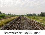 rails  railway  | Shutterstock . vector #558064864