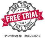 free trial. stamp. sticker....